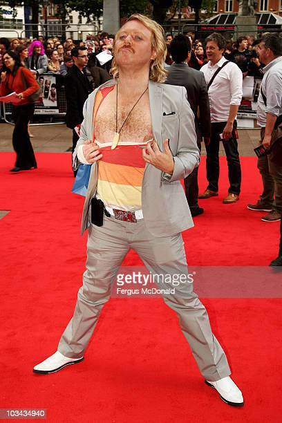 Leigh Francis attends the European premiere of Scott Pilgrim Vs. The World held at the Empire Leicester Square on August 18, 2010 in London, England.
