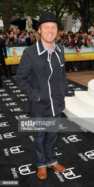Leigh Francis attends the UK premiere of 'Bruno' at Empire Leicester Square on June 17 2009 in London England