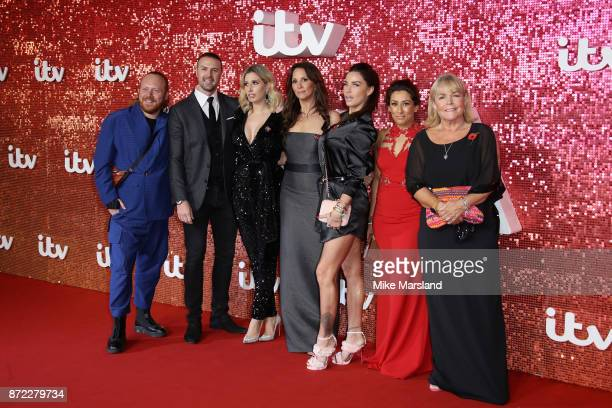 Leigh Francis Paddy McGuinness Stacey Solomon Andrea McLean Katie Price Saira Khan and Linda Robson arrive at the ITV Gala held at the London...