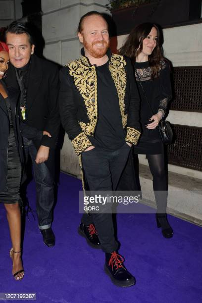 Leigh Francis seen attending the BRIT Awards 2020 Universal afterparty at the Ned hotel on February 18 2020 in London England