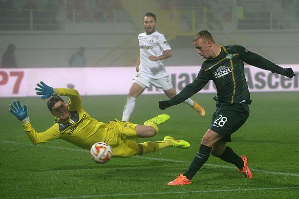 Leigh Griffiths is Scotland's key player. (DANIEL MIHAILESCU/AFP/Getty Images)