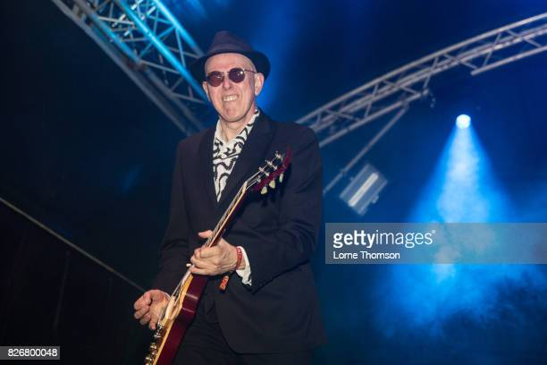 Leigh Heggarty of Ruts DC performs at Rebellion Festival at Winter Gardens on August 5 2017 in Blackpool England