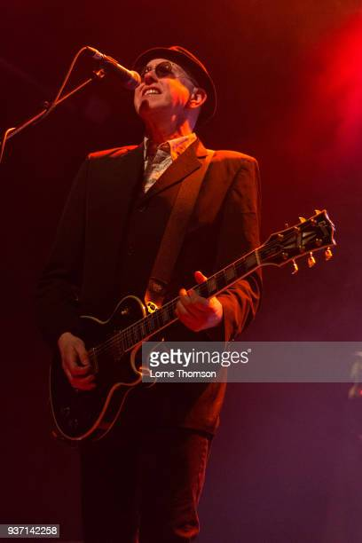 Leigh Heggarty of Ruts DC performs at The Forum on March 23 2018 in London England