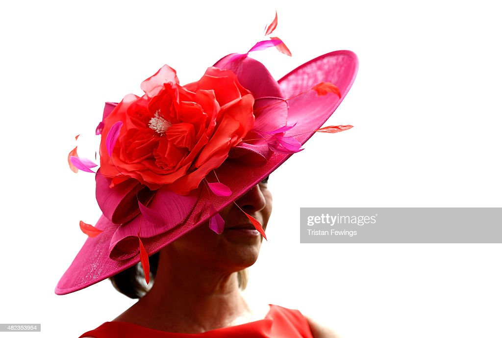 Leigh Johnson on day three of the Qatar Goodwood Festival at Goodwood Racecourse on July 30, 2015 in Chichester, England.