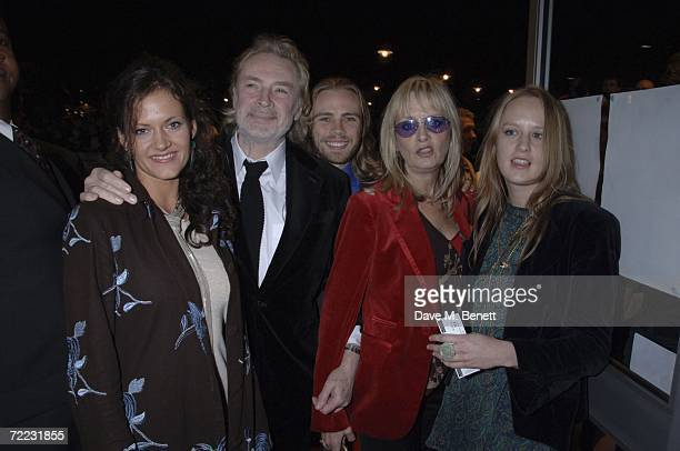 Leigh Lawson Ace Lawson and Twiggy attend the BFI London Film Festival premiere of ''Stranger Than Fiction'' at the West End Odeon on October 20 2006...