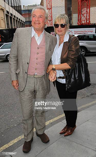 Leigh Lawson and Twiggy attend the book launch of 'Linda Mccartney: Life In Photographs' at Phillips de Pury And Company on June 6, 2011 in London,...
