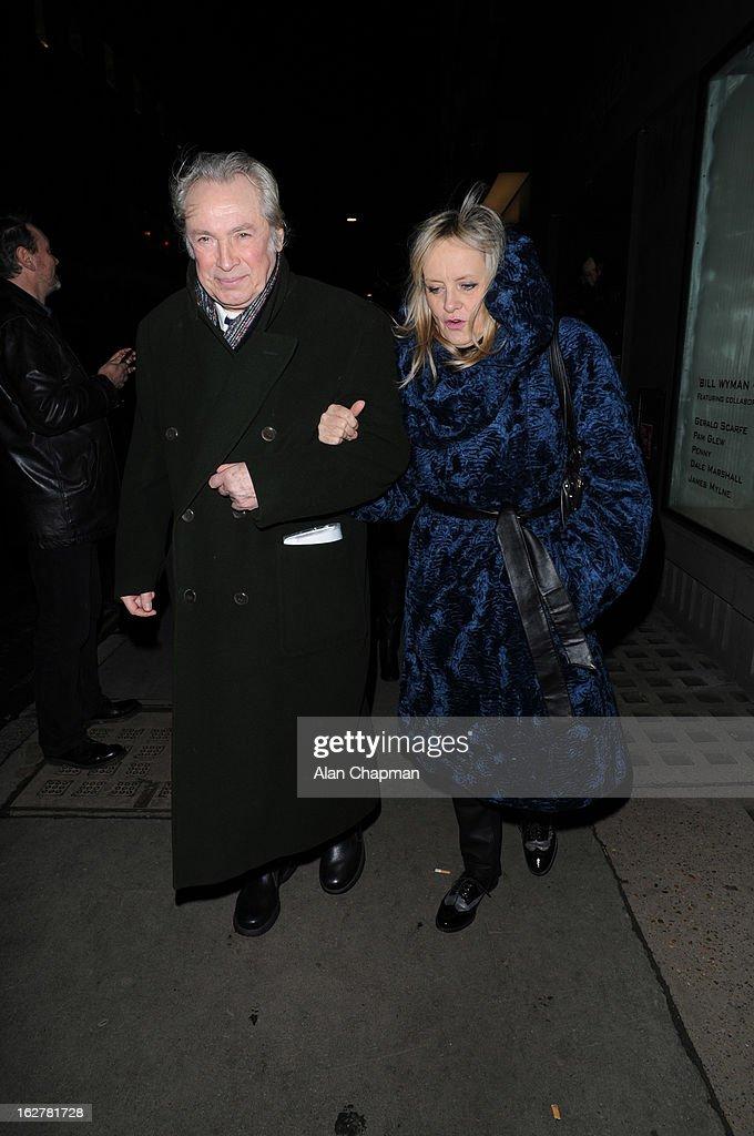 Celebrity Sightings In London - February 26, 2013