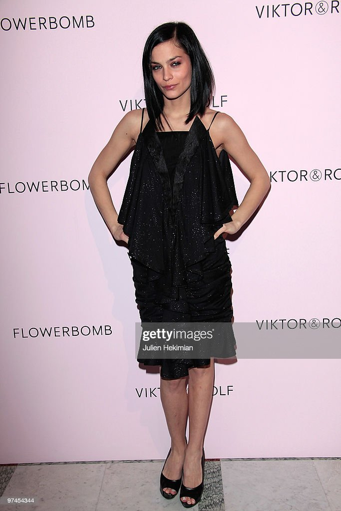 Leigh Lezard attends the Victor & Rolf 'Flower Bomb' 5th Anniversary during Paris Fashion Week at Hotel Meurice on March 4, 2010 in Paris, France.
