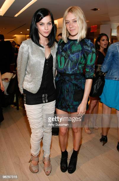 Leigh Lezark and actress Chloe Sevigny attend the Book Party for Derek Blasberg's 'Classy' at Barneys New York on April 6, 2010 in New York City.