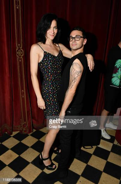 Leigh Lezark and Christian Siriano attend Rose Bar Pride Party hosted by Christian Siriano Bethany C Meyers and Nico Tortorella at Rose Bar at...