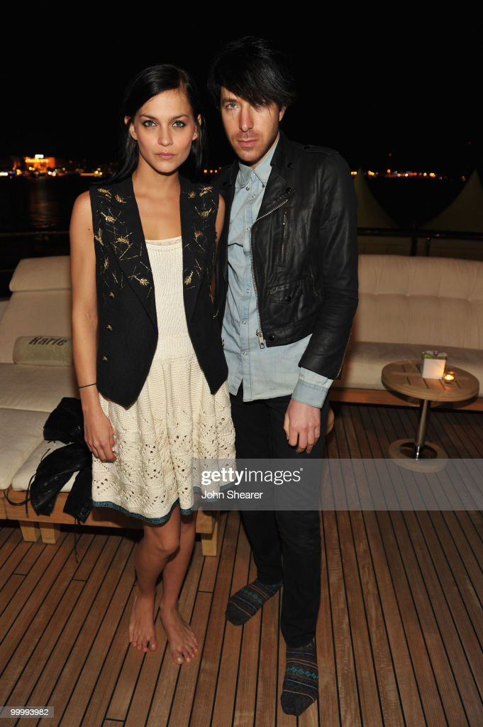 Leigh Lezark and Greg Krelenstein of the MisShapes attend the 'Art of Elysium Paradis Dinner and Party' at Michael Saylor's Yacht, Slip S05 during the 63rd Annual Cannes Film Festival on May 19, 2010 in Cannes, France.