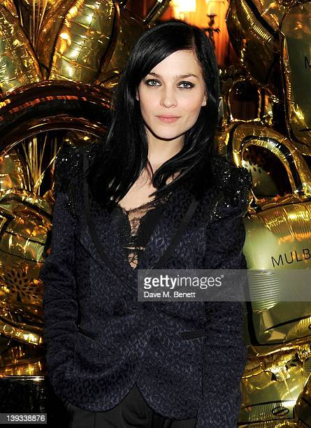Leigh Lezark attends a dinner following the Mulberry Autumn/Winter 2012 show during London Fashion Week at The Savile Club on February 19 2012 in...