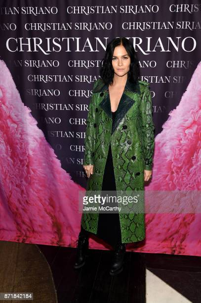 Leigh Lezark attends Christian Siriano celebrates the release of his book 'Dresses To Dream About' at the Rizzoli Flagship Store on November 8 2017...