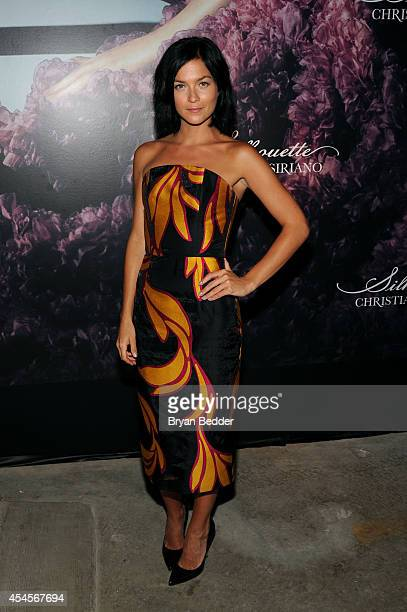 Leigh Lezark attends Christian Siriano's celebration of his new fragrance with a Stoli Vodka cocktail at the designer's popup Silhouette Shoppe in...