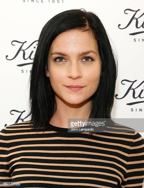 Leigh Lezark attends Kiehl's with Norman Rockwell and feeding America Charitable Holiday Partnership celebration at Kiehl's Since 1851 Skin Care on...