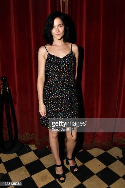 Leigh Lezark attends Rose Bar Pride Party hosted by Christian Siriano Bethany C Meyers and Nico Tortorella at Rose Bar at Gramercy Park Hotel on June...