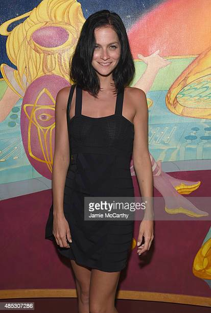 Leigh Lezark attends the 45th Anniversary of Electric Lady Studios featuring Patti Smith on August 26 2015 in New York City