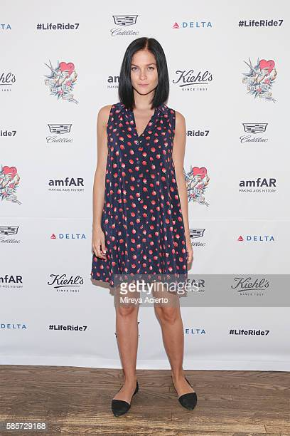 Leigh Lezark attends the 7th Annual LifeRide for amfAR at Kiehl's Since 1851 Flagship Store on August 3 2016 in New York City