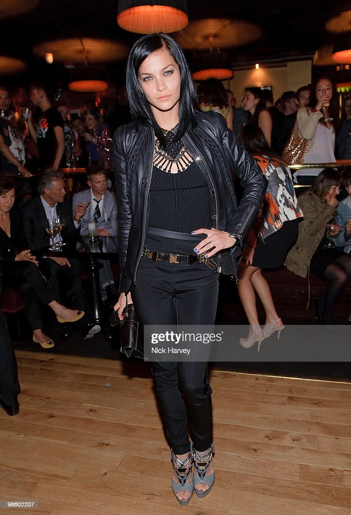 Leigh Lezark attends the afterparty following the opening of Gucci's pop-up sneaker store, at Ronnie Scott's on April 21, 2010 in London, England.
