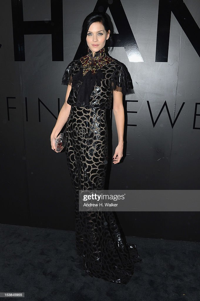 Leigh Lezark attends the celebration of CHANEL FINE JEWELRY'S 80th anniversary of the 'Bijoux De Diamants' collection created by Gabrielle Chanel on October 9, 2012 in New York City.