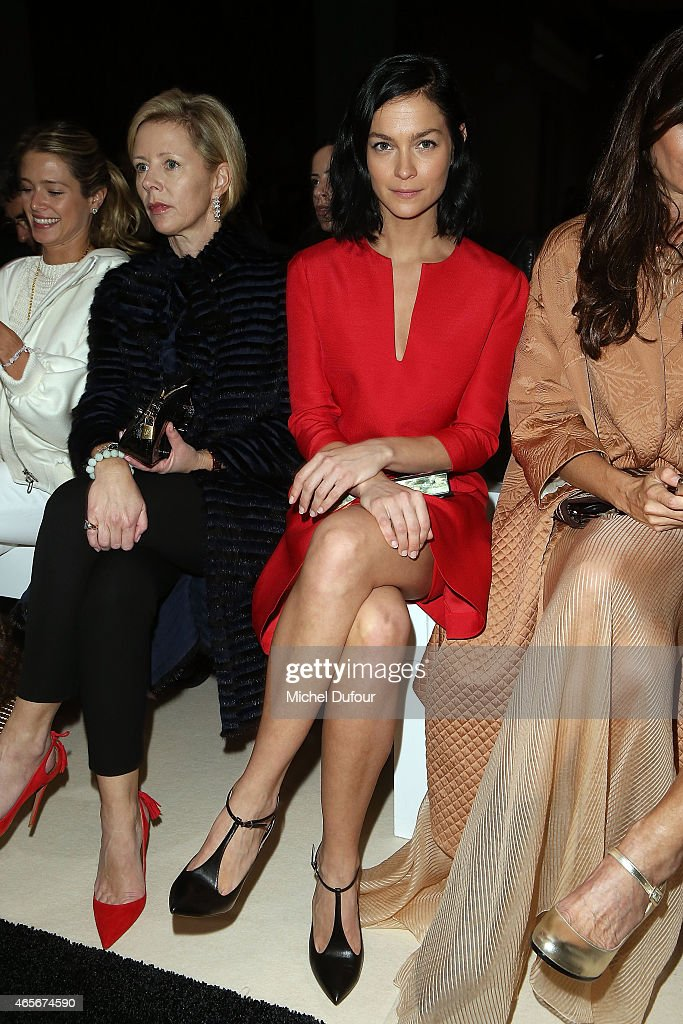 Leigh Lezark Attends the Giambattista Valli show as part of the Paris Fashion Week Womenswear Fall/Winter 2015/2016 on March 9, 2015 in Paris, France.