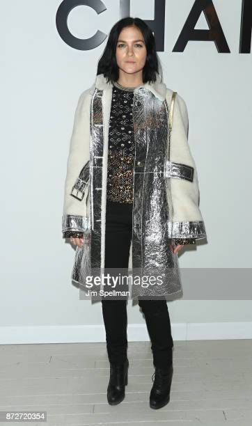 Leigh Lezark attends the launch of The Coco Club celebrated by CHANEL at The Wing Soho on November 10 2017 in New York City