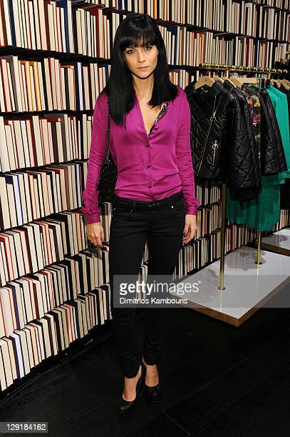 Leigh Lezark attends the Little Dragon Play Mulberry Mix Tape Tour at Mulberry Store on October 13 2011 in New York City