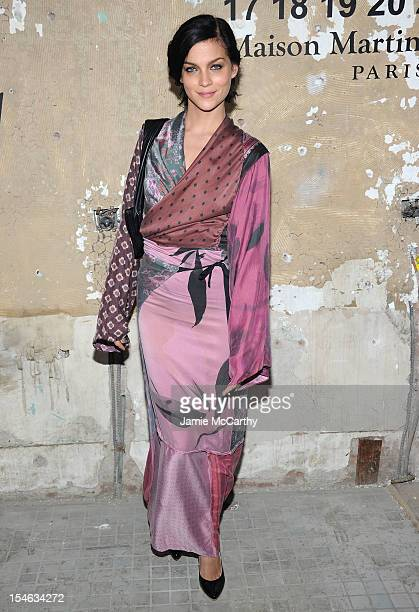 Leigh Lezark attends the Maison Martin Margiela with HM global launch event at 5 Beekman on October 23 2012 in New York City