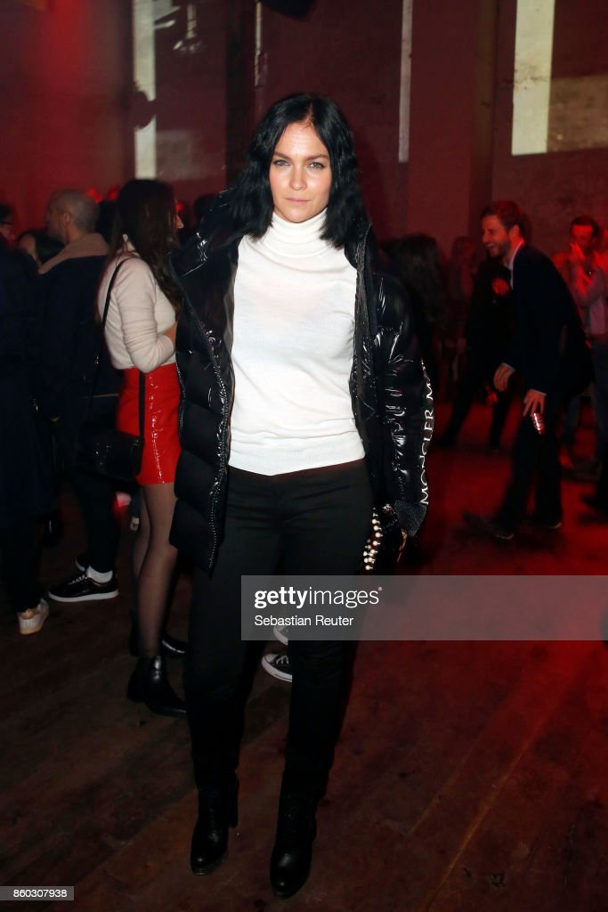 Leigh Lezark attends the Moncler X Stylebop.com launch event at the Musikbrauerei on October 11, 2017 in Berlin, Germany.