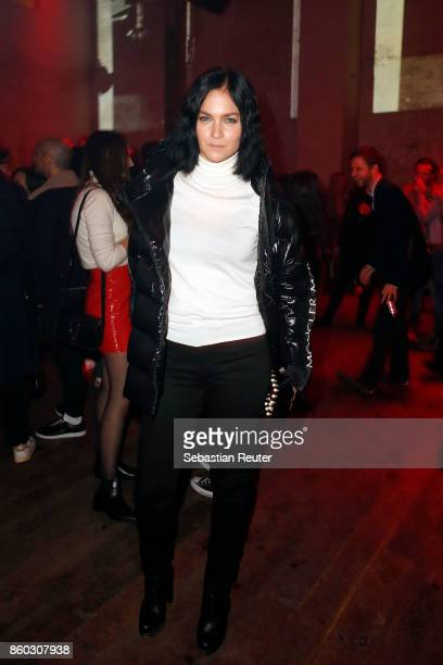 Leigh Lezark attends the Moncler X Stylebopcom launch event at the Musikbrauerei on October 11 2017 in Berlin Germany