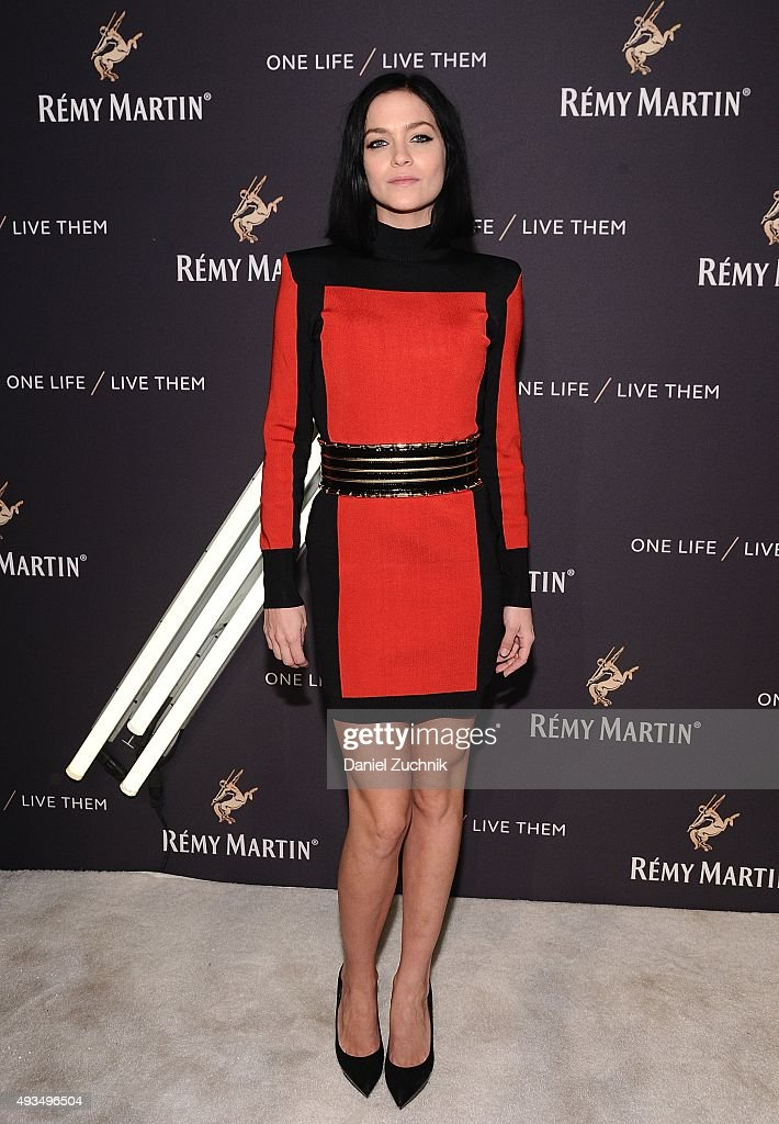 Leigh Lezark attends the The House Of Remy Martin 'One Life/Live Them' Launch Event With Jeremy Renner at ArtBeam on October 20, 2015 in New York City.