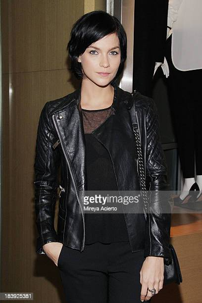 Leigh Lezark attends the Vince Flagship Store on October 9 2013 in New York City