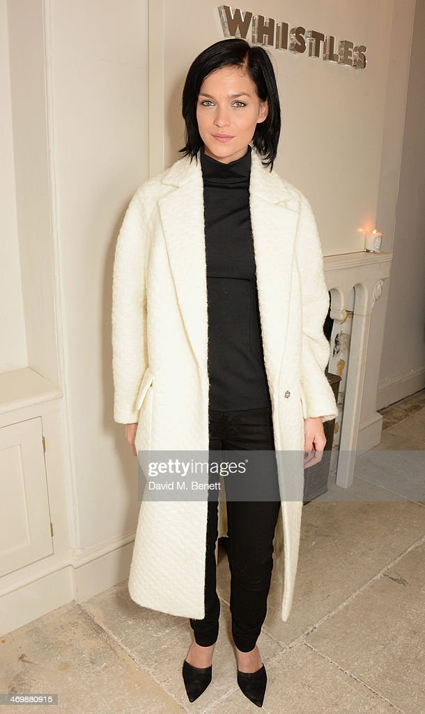 Leigh Lezark attends the Whistles presentation at London Fashion Week AW14 at 33 Fitzroy Place on February 17, 2014 in London, England.