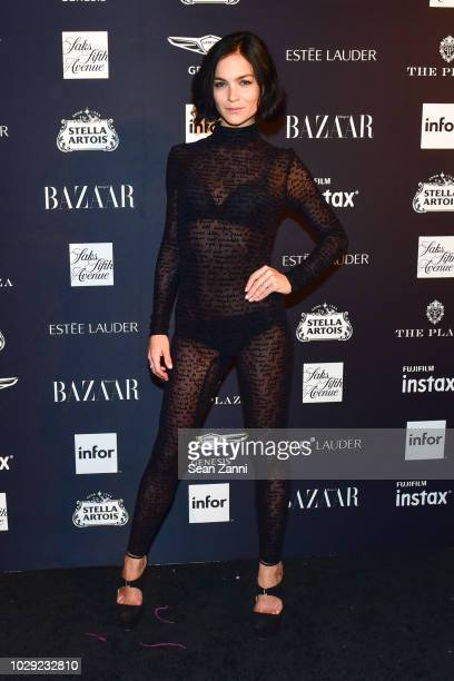 Leigh Lezark attends The Worldwide Editors Of Harper's Bazaar Celebrate ICONS by Carine Roitfeld presented by Infor Stella Artois FUJIFILM Estee...