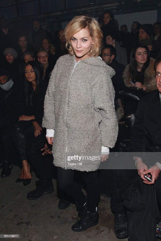 Leigh Lezark attends the Y-3 Fall 2013 Mercedes-Benz Fashion Show at 80 Essex Street on February 10, 2013 in New York City.