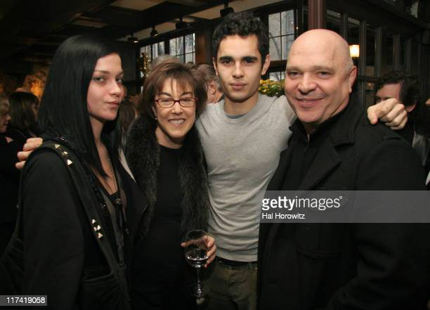 Leigh Lezark Nora Ephron Max Minghella and Anthony Minghella