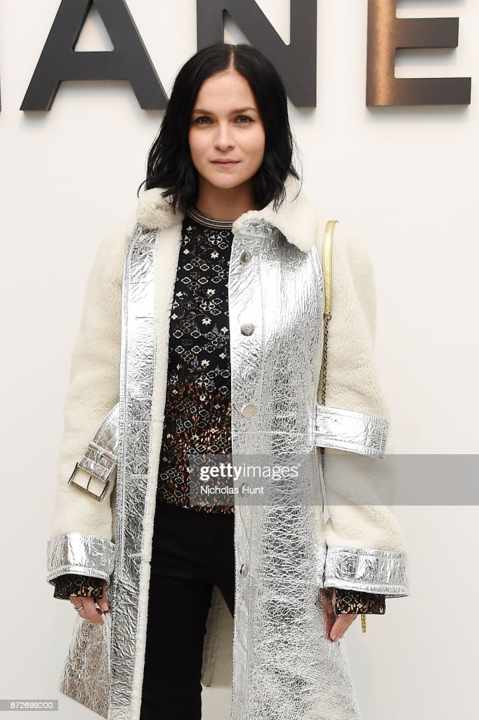 DJ Leigh Lezark of the Misshapes, wearing CHANEL, attends as CHANEL celebrates the launch of the Coco Club, a Boy-Friend Watch event at The Wing Soho on November 10, 2017 in New York City.