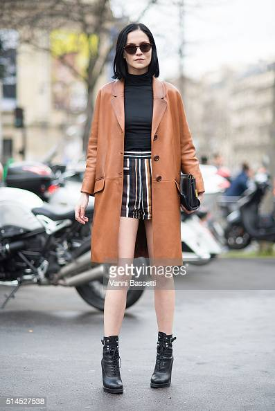 Street Style Paris Fashion Week Day Nine Womenswear Fall Winter 2016 2017 Photos And Images