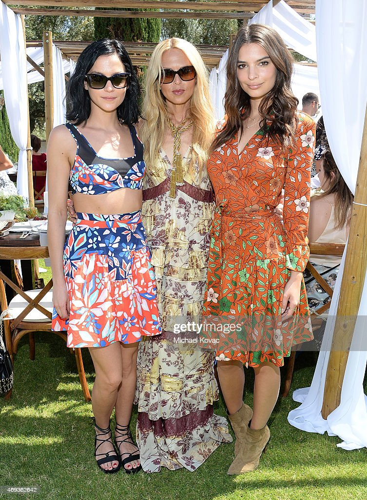 Moet Ice Imperial At The Zoe Report And DVF Brunch, Hosted By Rachel Zoe At Coachella : News Photo