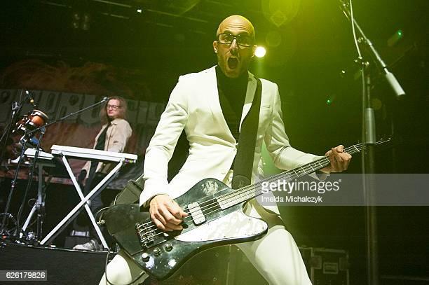 Leigh Marklew of Terrorvision performs at KOKO on November 27 2016 in London England