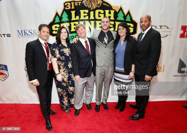 Leigh Steinberg and Riley L Ferguson attend Leigh Steinberg Super Bowl Party 2018 on February 3 2018 in Minneapolis Minnesota