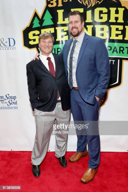 Leigh Steinberg and Ryan Leaf attend Leigh Steinberg Super Bowl Party 2018 on February 3 2018 in Minneapolis Minnesota