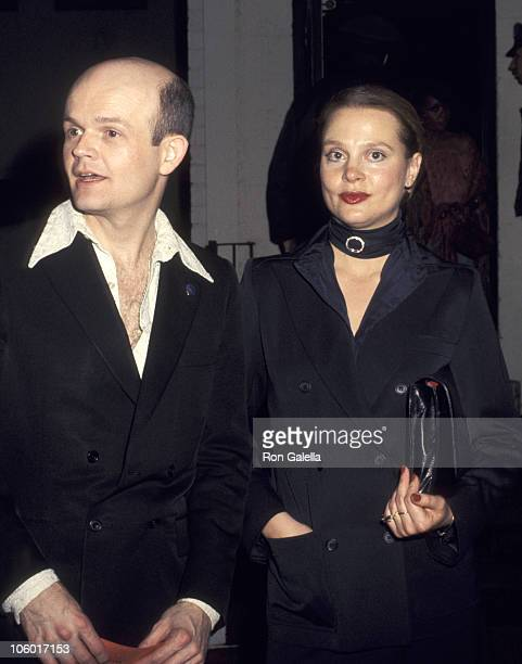 Leigh Taylor Young and Guest during Birthday Party for Harold Robbins at My Place in Los Angeles California United States