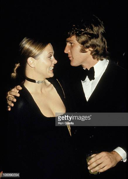 Leigh Taylor Young and Ryan O' Neal during 43rd Academy Awards Party at Academy Lobby in Los Angeles California United States