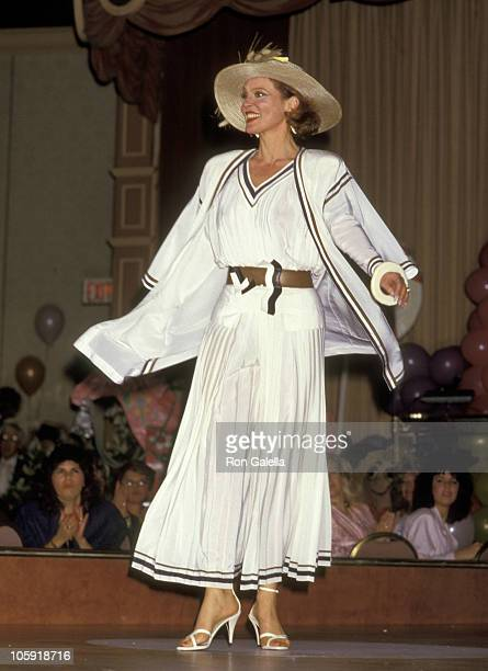 Leigh Taylor Young during 6th Annual Celebrity MotherDaughter Fashion Show at Beverly Hilton Hotel in Beverly Hills California United States