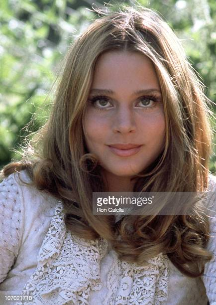 Leigh Taylor Young during Buttercup Chain on Location in London in London Great Britain
