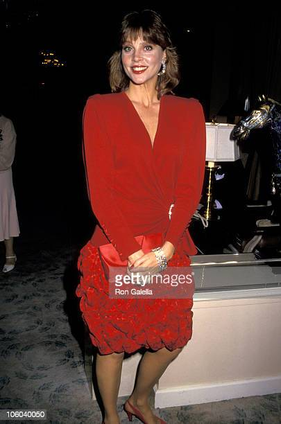 Leigh Taylor Young during International Integrity Awards October 23 1987 at Beverly Hilton Hotel in Beverly Hills California United States