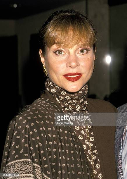 Leigh Taylor Young during Leigh Taylor Young at Glasnot Gala May 5 1989 at Bel Age Hotel in West Hollywood California United States