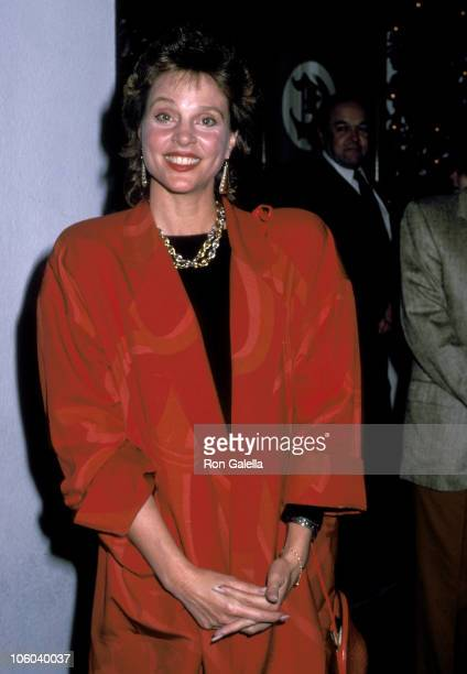Leigh Taylor Young during The Color of Money Premiere Party October 14 1986 at Chasen's Restaurant in Beverly Hills California United States