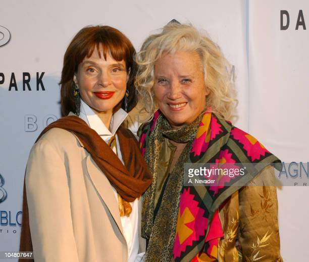 Leigh TaylorYoung and Sally Kirkland during Style by the Shore Fashion Show to Benefit Save the Bay Malibu Arrivals at 21942 Pacific Coast Highway in...